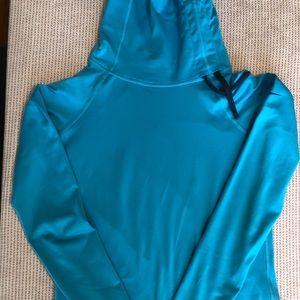 Nike Dri-FIT Warm Blue Pullover Turtleneck